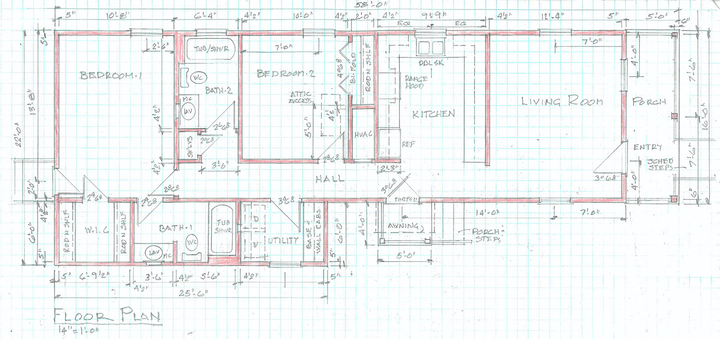 1127 Avenue A floor plan